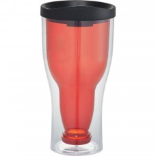 Red Game Day Bottoms Up Tumblers | 15 oz