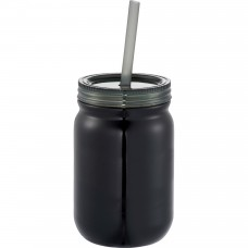 Black Stainless Mason Jar | 24 oz
