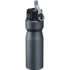 Black High Sierra Aluminum Bottles | 24 oz - Smoke