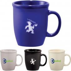 Cafe Au Lait Ceramic Mug   12 oz