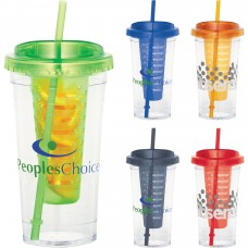 Personalized Fruit Infuser Tumbler | 24 oz