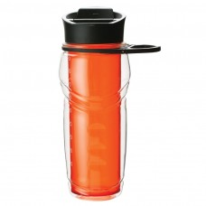 Orange AS Plastic Bottles | 20 oz