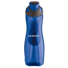 Blue 28 oz Long-n-Lean Easy-Grip Bottles|