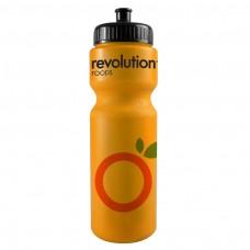 Orange The Journey Bottles - 28 oz. Bike Bottles Colors-Neon