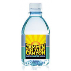 Custom Label Bottled Water | 8 fl oz