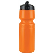 Orange The Mighty Shot - 24. oz. Bike Bottles (Valve Lid)