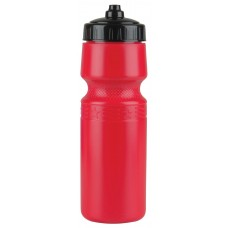 Red The Mighty Shot - 24. oz. Bike Bottles (Valve Lid)