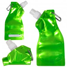 Metallic Green Curvy Flexi Water Pouch