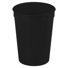 Black Cups-On-The-Go - 12 oz. Stadium Cup
