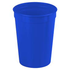 Royal Blue Cups-On-The-Go - 12 oz. Stadium Cup