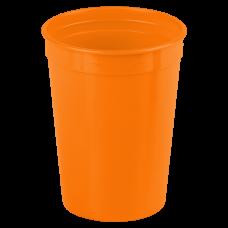 Orange Cups On The Go - 12 oz. Stadium Cup