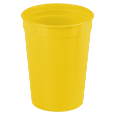 Yellow Cups-On-The-Go - 12 oz. Stadium Cup
