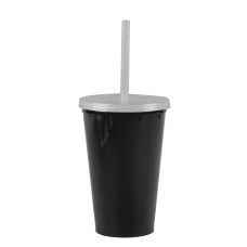 Black Cups-On-The-Go -20 oz. Stadium Cup