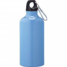 Light Blue Li'l Shorty Aluminum Sports Bottles | 17 oz -