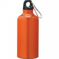 Orange Li'l Shorty Aluminum Sports Bottles | 17 oz