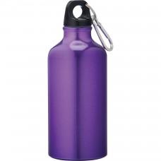 Purple Li'l Shorty Aluminum Sports Bottles | 17 oz
