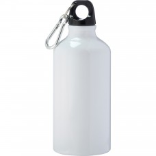 White Li'l Shorty Aluminum Sports Bottles | 17 oz