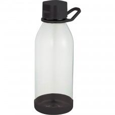 Black Piper Tritan Sports Bottles | 24 oz - Clear with Black Lid