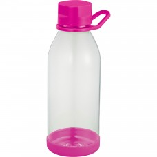 Pink Piper Tritan Sports Bottles | 24 oz - Clear with Pink Lid