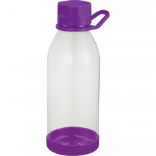 Purple Piper Tritan Sports Bottles | 24 oz - Clear with Purple Lid