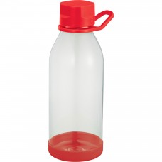 Red Piper Tritan Sports Bottles | 24 oz - Clear with Red Lid