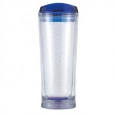Clear with Blue Lid Denali | 20 oz