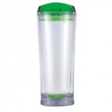Green Denali | 20 oz - Clear with Green Lid