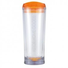 Orange Denali | 20 oz - Clear with Orange Lid