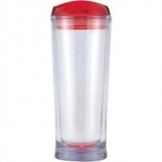 Red Denali | 20 oz - Clear with Red Lid