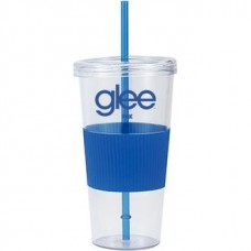 Clear with Blue Grip Burpy | 24 oz