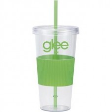 Green Burpy | 24 oz - Clear with Green Grip