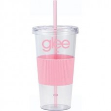 Pink Burpy | 24 oz - Clear with Pink Grip