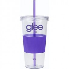 Purple Burpy | 24 oz - Clear with Purple Grip