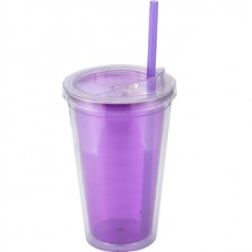 Purple Sip'n Straw | 16 oz