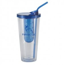 Clear with Blue Infuser and Lid Flavorade Venti | 20 oz