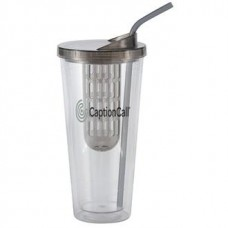 Black Flavorade Venti | 20 oz - Clear with Smoke Infuser and Lid