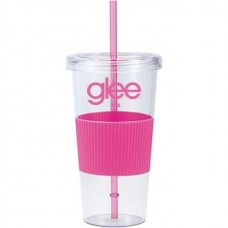 Pink Burpy | 24 oz - Clear with Hot Pink Grip