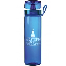 Blue Custom Logo Tritan Water Bottles | 27 oz