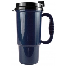 Metallic Blue The Commuter - 16 oz. Auto Mugs-Metallic Colors
