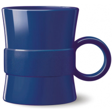 Blue 14 oz Loop BPA Free Plastic Mugs