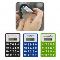 Promotional Rubbery Flexible Calculator