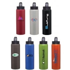 H2Go Allure Aluminum Customized Water Bottles | 28 oz