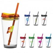 Pint2go Glass Tumbler | 16 oz