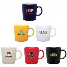 Ceramic Enzo Promo Coffee Mug   14 oz