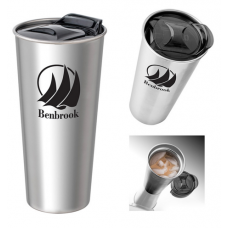16 oz Basecamp Insulated Stainless Steel Tumbler
