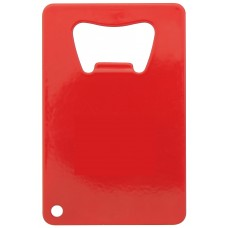Red Credit Card Bottle Opener