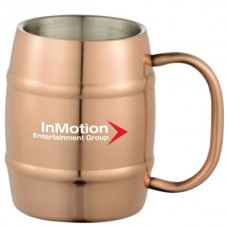 14 oz Moscow Mule Barrel Mug