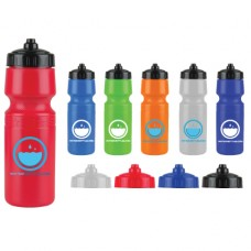 The Mighty Shot - 24. oz. Bike Bottles (Valve Lid)