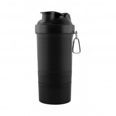 Black The 3 in 1 Shaker Cup