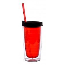 Red The Ganado Translucent Tumblers